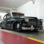 Volvo 122S slammed, lowered, air bags, air ride, photo, gallery